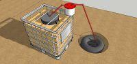 Natursprung-Biogasanlage-Gabione